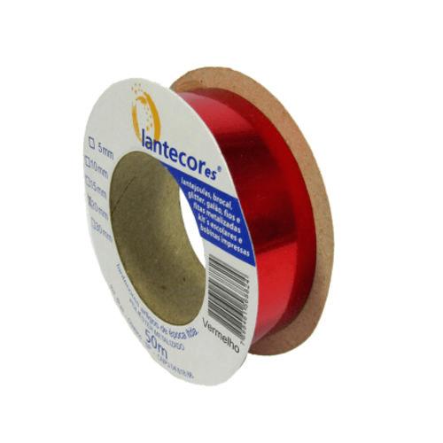 Fita metaloide 15mmx50m Lantecores - Vermelho