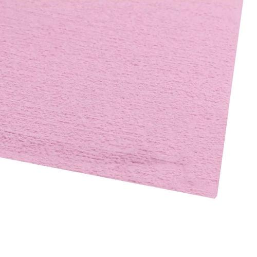 EVA placa atoalhado / Felpudo 48x40 cm - Rosa