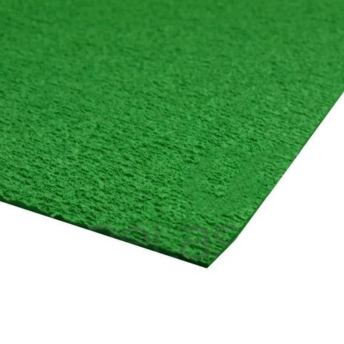 EVA placa atoalhado / Felpudo 48x40 cm - Verde