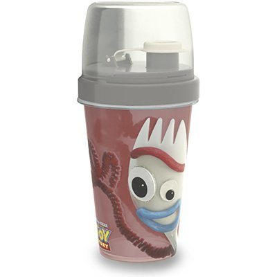 Garrafa escolar shakeira 320ml mini Forky 9463 Plasutil PT 1 UN