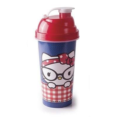 Garrafa escolar shakeira 580ml Hello Kitty 8472 Plasutil PT 1 UN