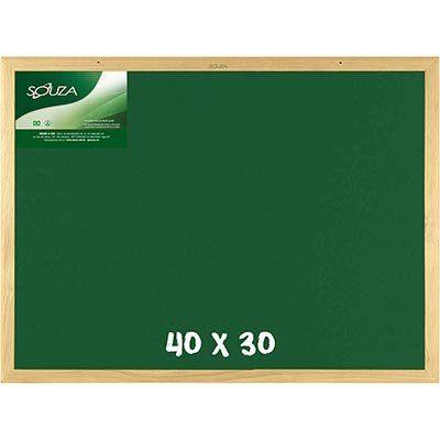 Quadro escolar 40x30cm verde 22041 Souza & Cia PT 1 UN - KL