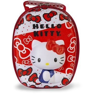 Lancheira revestida Hello Kitty Red 2823BX19 Maxtoy PT 1 UN