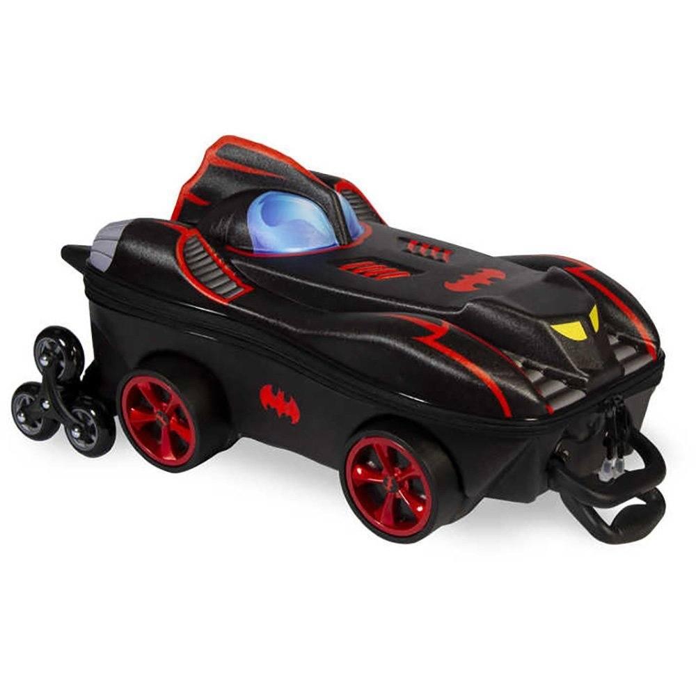 Mochila EVA c/ rodas Batman Chrome 3805PM19 Maxtoy PT - CA001