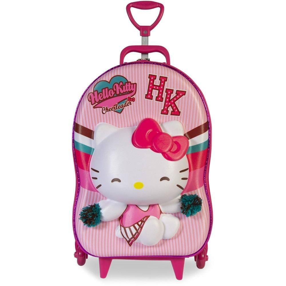 Mochila EVA c/ rodas Hello Kitty 2823AM19 Maxtoy PT 1 UM