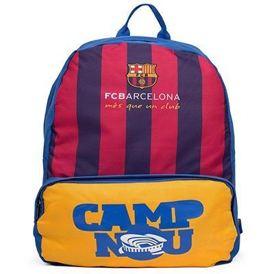 Mochila poliéster Barcelona 5244 Futebol Magia PT 1 UN