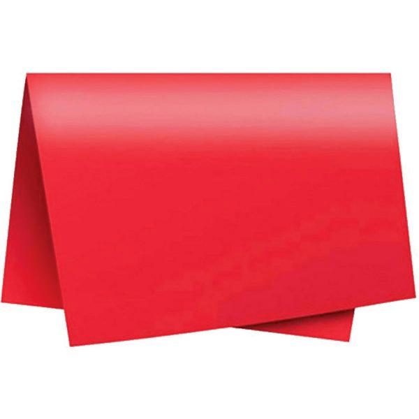 Papel color set 48x66 110g vermelho Novaprint