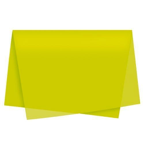 Papel De Seda 50x70 Amarelo - 1 unidade