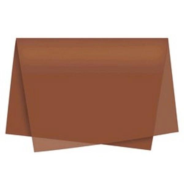 Papel De Seda 50x70 marrom - 1 unidade