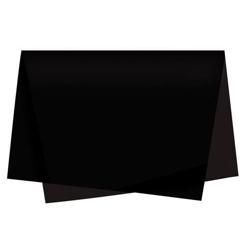 Papel De Seda 50x70 preto - 1 unidade