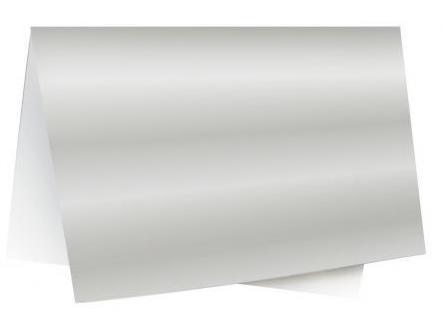 Papel Laminado 48x60cm Prata Novaprint