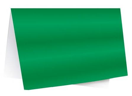 Papel Laminado 48x60cm Verde Novaprint