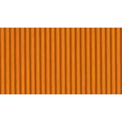 PAPEL MICRO ONDULADO 50X80CM - LARANJA