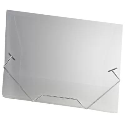 Pasta c/ elástico polipropileno 245x180 transparente ACP PT 1 UN
