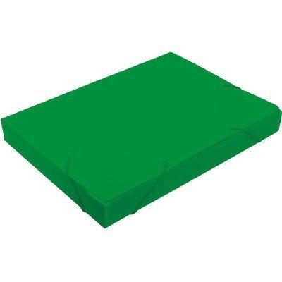 Pasta novaonda ofício 335x245x35mm verde Polibrás PT 1 UN
