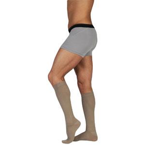 Juzo Dynamic Knee-High Full Foot Cotton Socks For Men