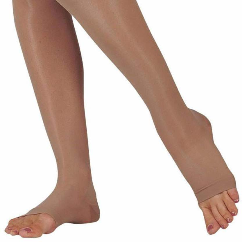 Juzo Sheer Knee-High Open Toe
