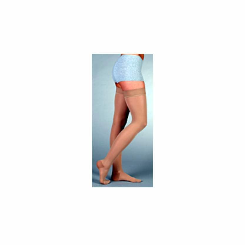 Juzo Basic Thigh-High Full Foot W/Silicone Band