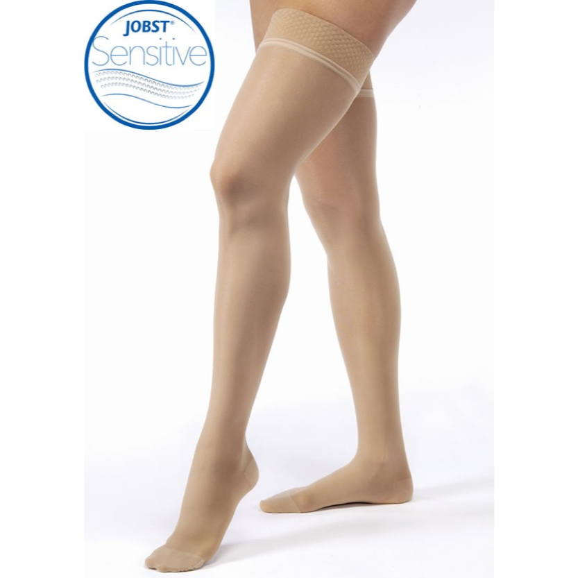 BSN Jobst Ultrasheer Sensitive Thigh-High Closed Toe Petite