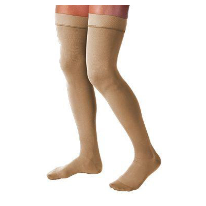 BSN Jobst Relief Thigh-High Closed Toe Silicone Petite