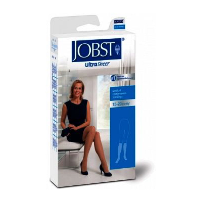 BSN Jobst UltraSheer Knee-High Closed Toe Petite