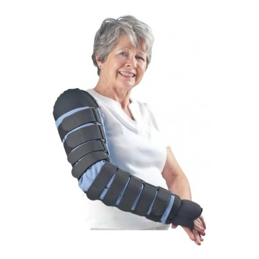 Biacare Medafit Firm Arm Sleeve W/Straps And Medahand