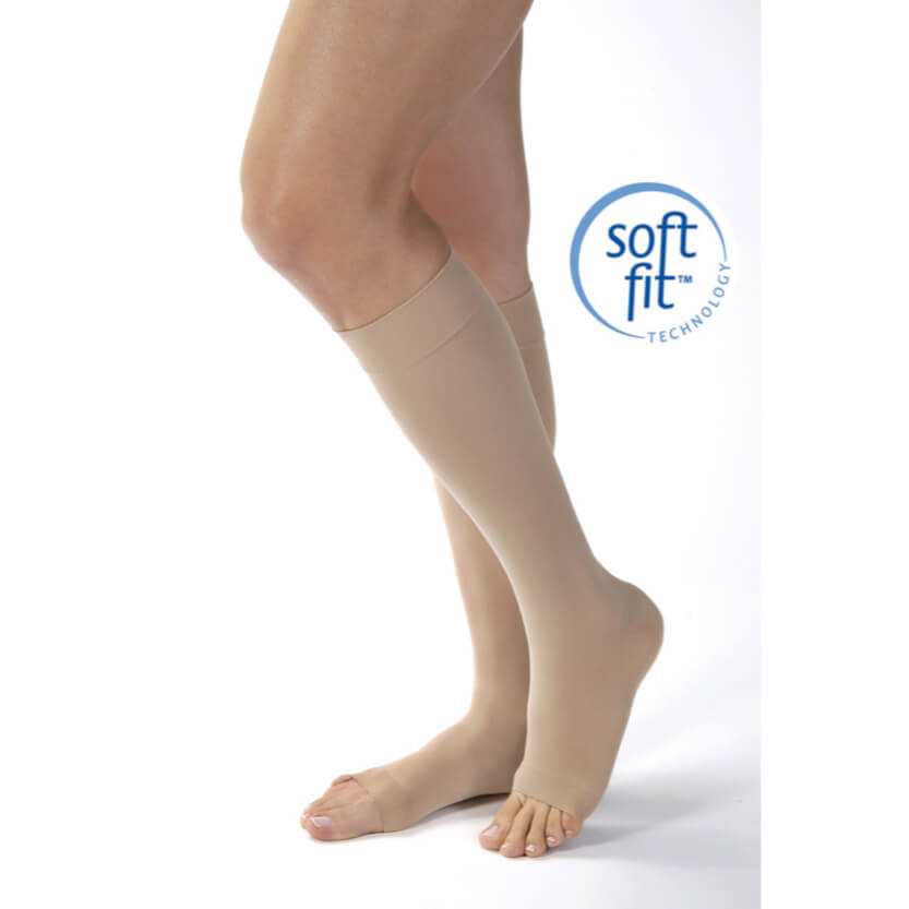 BSN Jobst Opaque SoftFit Knee-High Open Toe