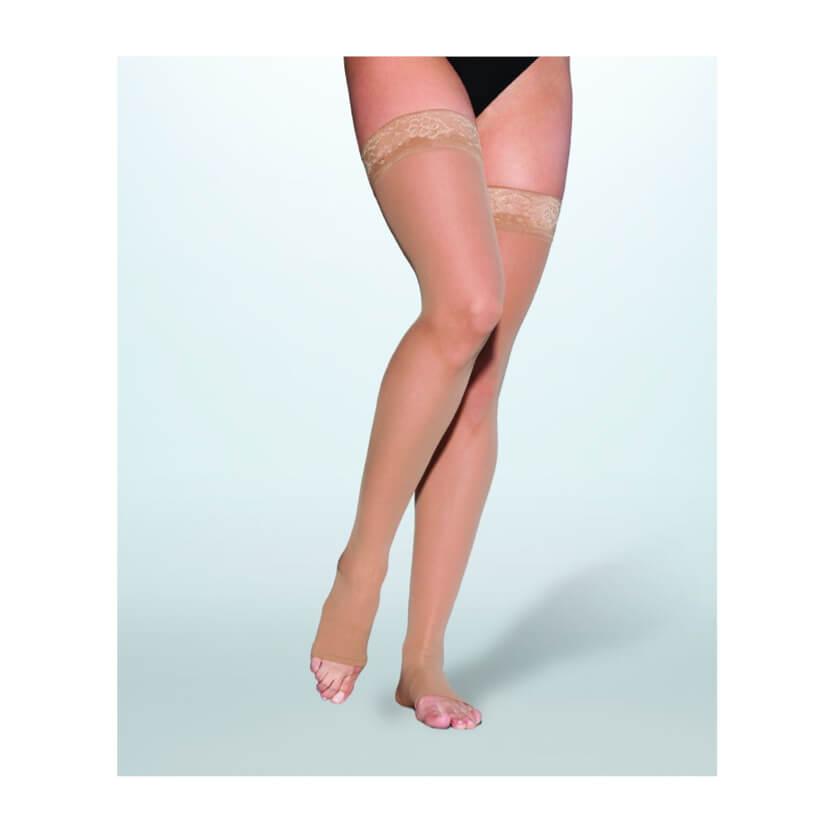 7863b4b7b22 Sigvaris EverSheer Closed Toe Thigh High Compression Stockings