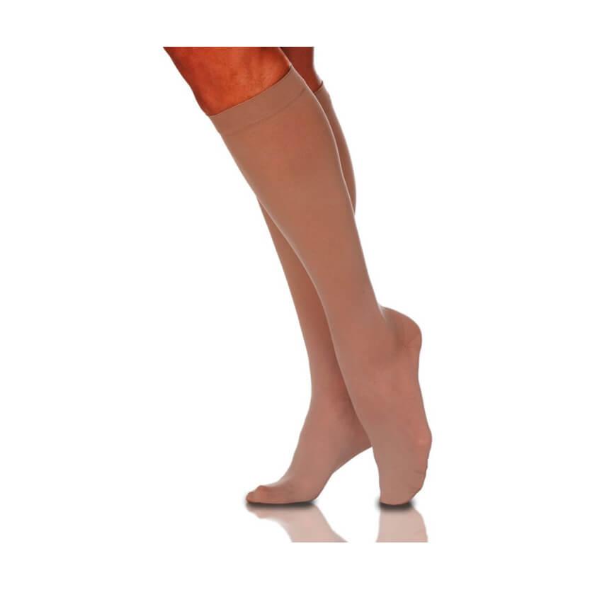 Sigvaris EverSheer Closed Toe Calf High Compression Stockings