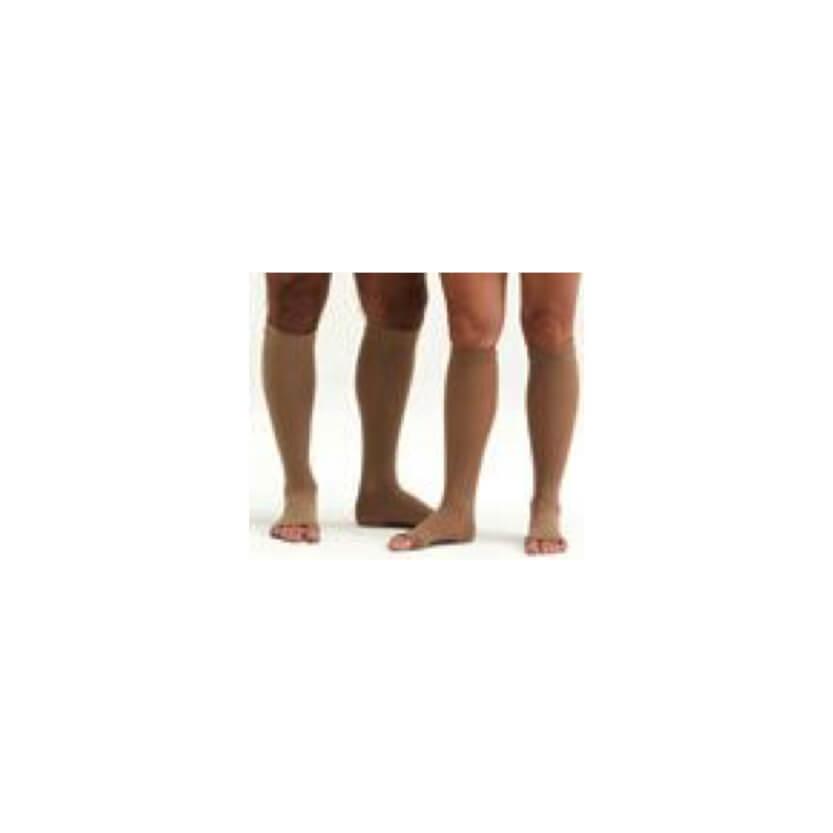 Medi Mediven Forte Knee-High Compression Sock W/Silicone Top Band