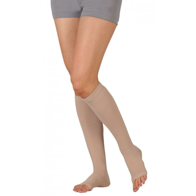 Juzo Basic Open Toe Knee High Compression Stocking
