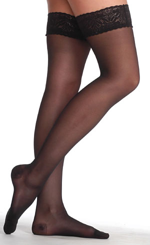 Juzo Attractive Thigh – High Stocking W/Silicone Band