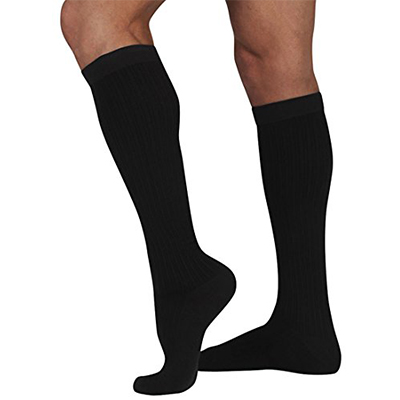 The Juzo Dynamic Closed – Toe Cotton Sock For Men