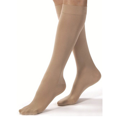 BSN Jobst Womens Microfiber Dress Firm Knee-High