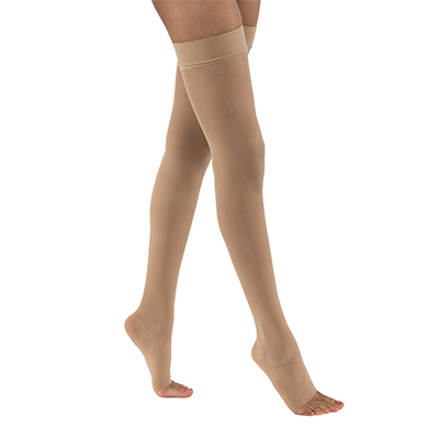 BSN Jobst UltraSheer Thigh-High Open Toe Petite
