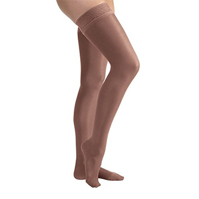 BSN Jobst UltraSheer Thigh-High Closed Toe W/Lace