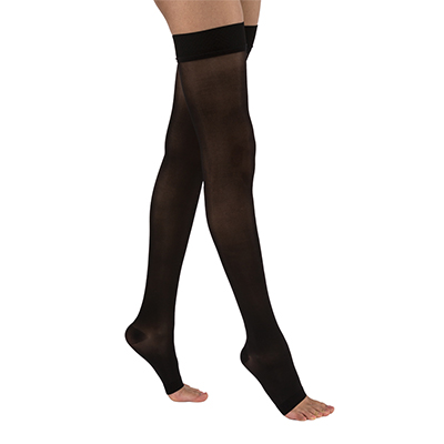 BSN Jobst UltraSheer Thigh-High Open Toe