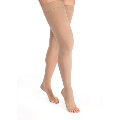 BSN Jobst Relief Thigh-High Open Toe Petite W/ Silicone
