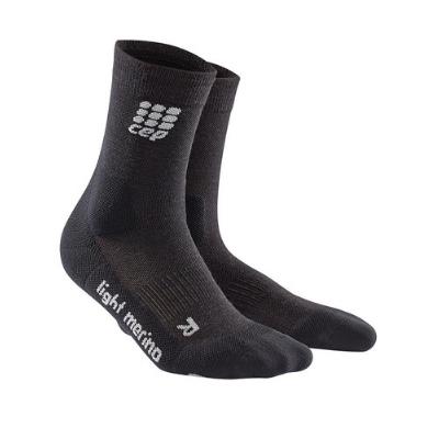 Medi CEP Dynamic+ Outdoor Light Merino Mid-Cut Socks For Men