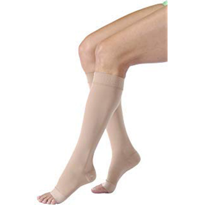 BSN Jobst Activa Sheer Therapy Knee-High Open Toe