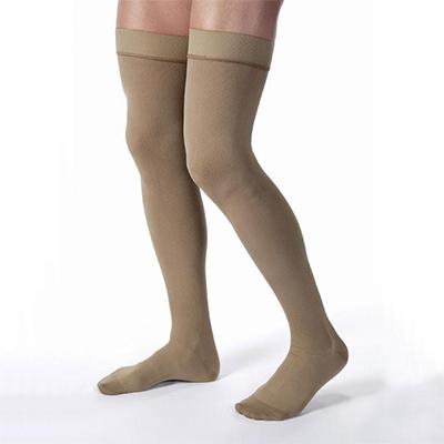 BSN Jobst Men's Thigh-High Closed Toe