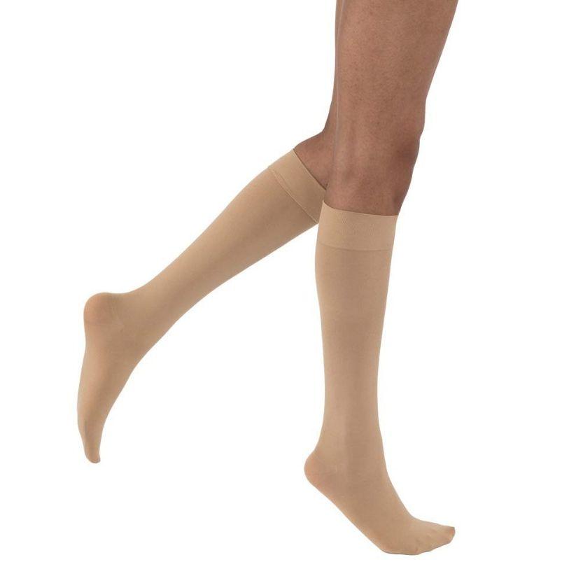 BSN Jobst Opaque Knee Closed Toe Petite