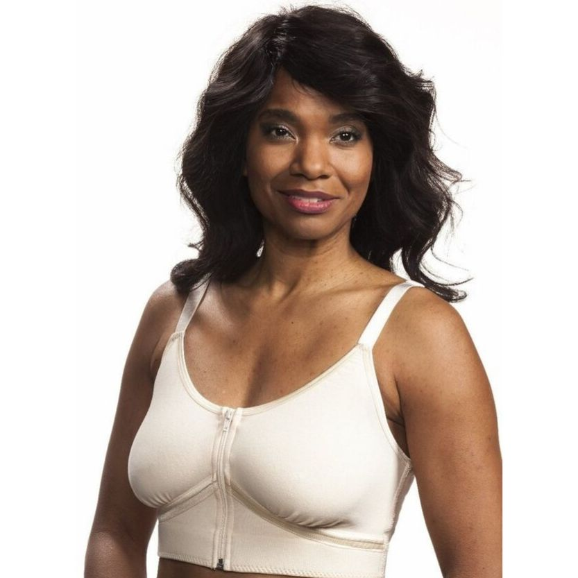 Wear Ease Allyson Bra + 2 Drain Pouches And Breast Forms