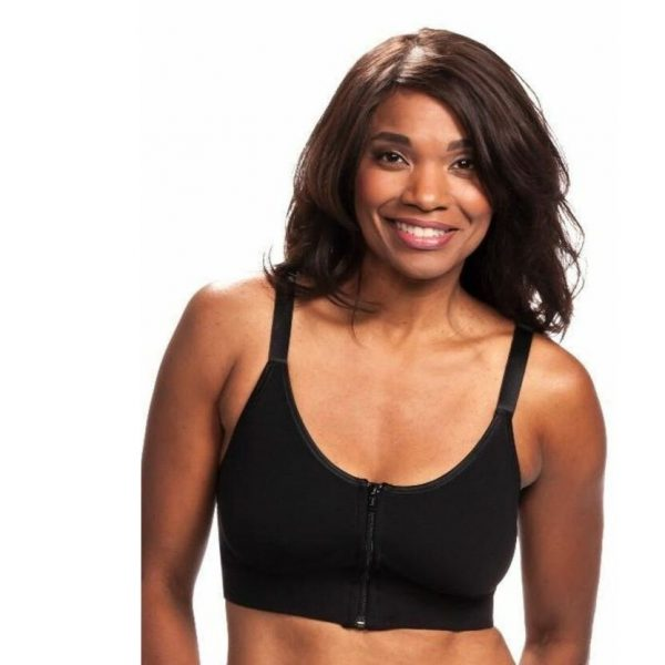 Wear Ease Allyson Black Bra