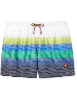ed6f709b7a2099 Shoptagr | Mid Length Printed Swim Shorts by Missoni