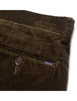 2b35336e27 Shoptagr | Slim Fit Stretch Cotton Corduroy Trousers by Polo Ralph ...