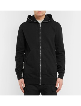c692f2db0a Shoptagr | Felpa Slim Fit Fleece Back Cotton Jersey Zip Up Hoodie by ...