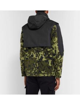 c20da4842c97 Shoptagr | + Matthew Williams Beryllium Camouflage Print Shell ...