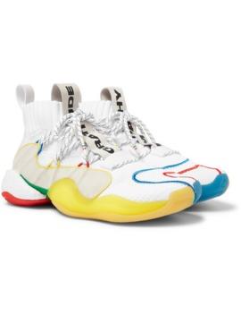 watch 1739e add78 Shoptagr   + Pharrell Williams Crazy Byw Lvl X Mesh Sneakers ...