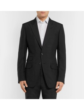 black-oconnor-slim-fit-silk-shantung-suit-jacket by tom-ford